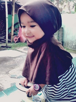Litle heejab and simple hijab kids