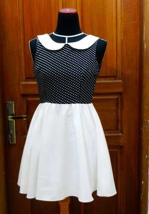 Dots mini dress from Pop Up Market 2014