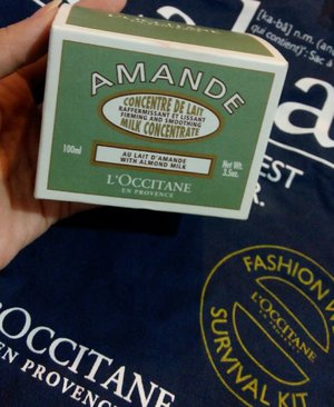 L'Occitane Firming and smoothing milk concentrate! New best friend :3